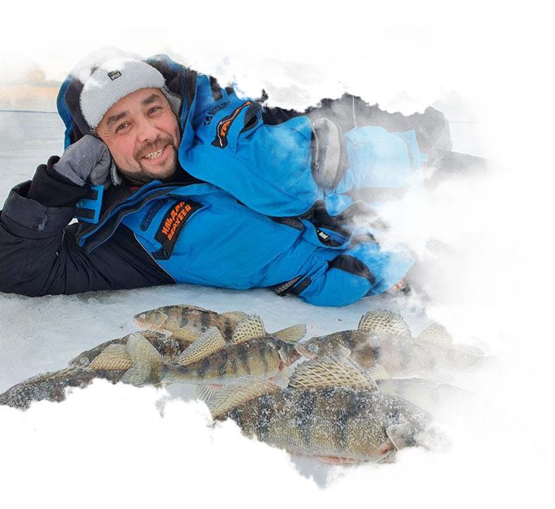 Зимняя рыбалка в Камском Устье